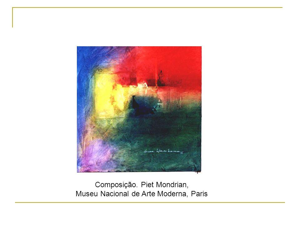 Composição. Piet Mondrian, Museu Nacional de Arte Moderna, Paris