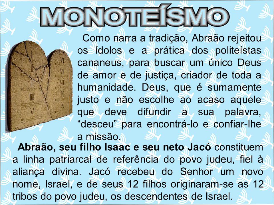 Quando Abraão morreu, o projeto divino, através de seus descendentes, continuou a operar até mesmo durante a escravidão no Egito.