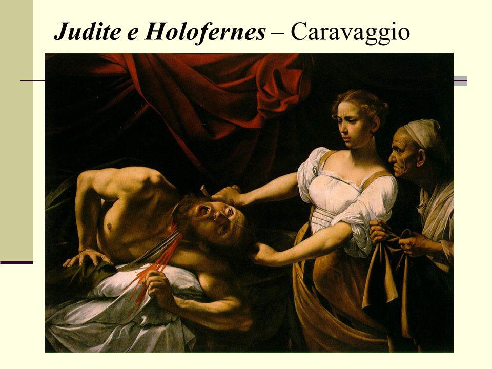 Judite e Holofernes – Caravaggio