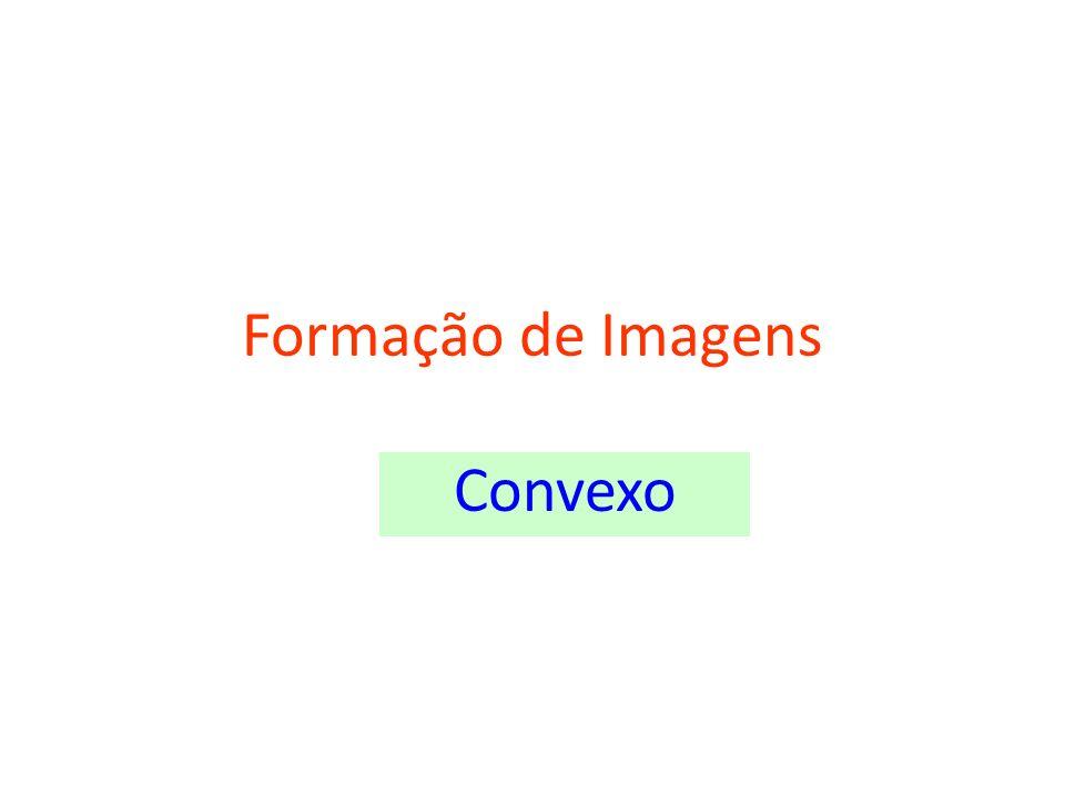 Objeto entre f eV CF V -Virtual -Direita -Maior -Atrás do espelho