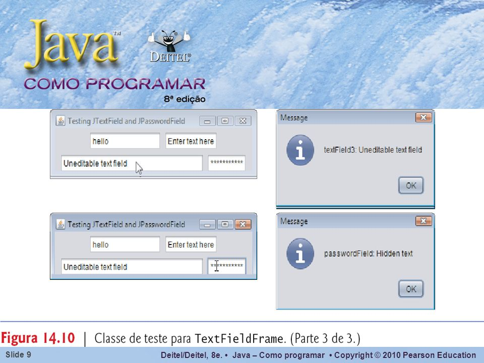 Deitel/Deitel, 8e. Java – Como programar Copyright © 2010 Pearson Education Slide 60