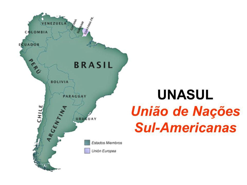 UNASUL União de Nações Sul-Americanas