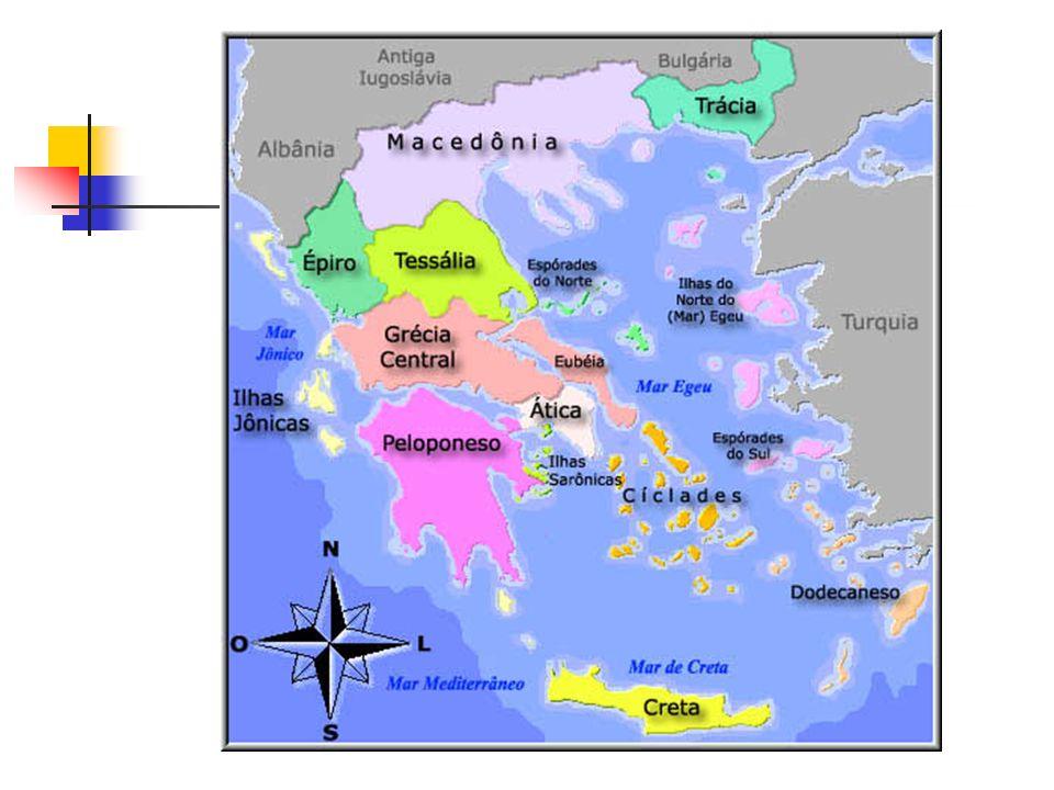 A CIDADE-ESTADO Era um centro político e geográfico independente; cada uma tinha seu governo, sua moeda e seus deuses.