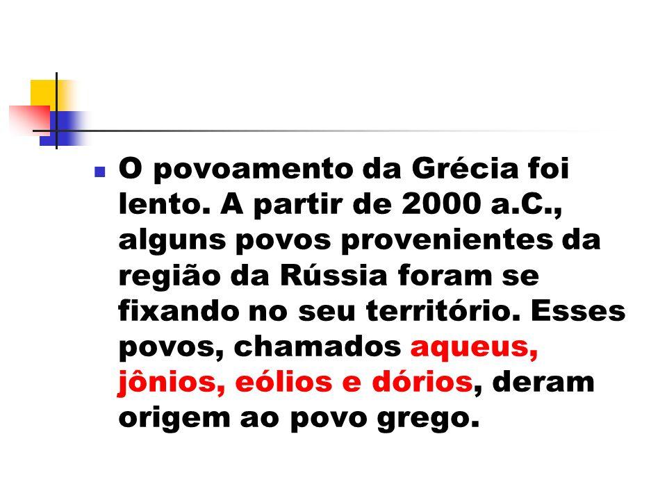 As artes gregas Teatro: Assim como as Olimpíadas, o teatro grego também se originou de uma festa religiosa.