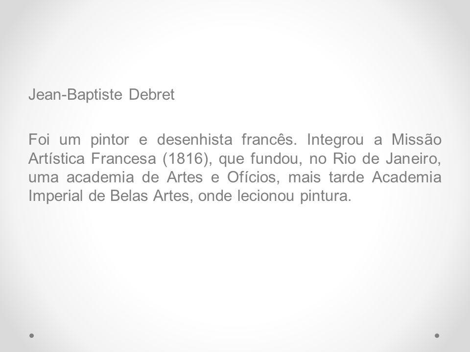 Debret, cujo atelier se encontrava no bairro do Catumbi, foi o que teve maior êxito ao registrar os usos e costumes do país, as tradições anacrônicas da corte portuguesa, como, por exemplo, o beija- mão.