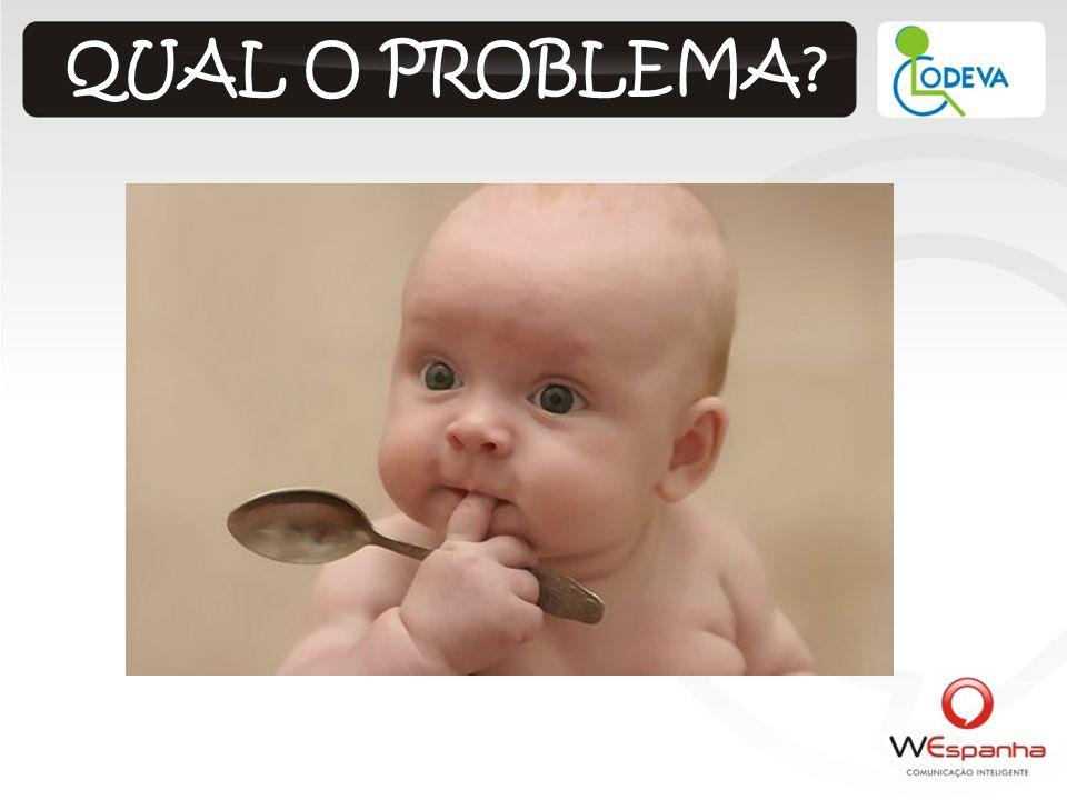 QUAL O PROBLEMA?
