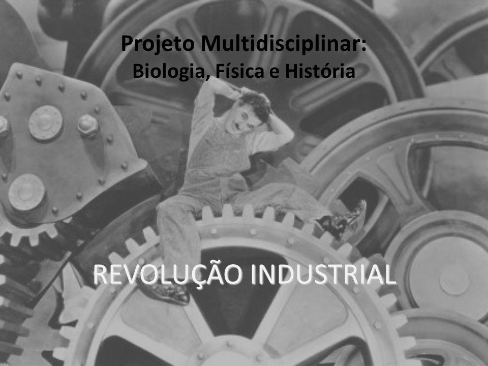 REVOLUÇÃO INDUSTRIAL Projeto Multidisciplinar: Biologia, Física e História