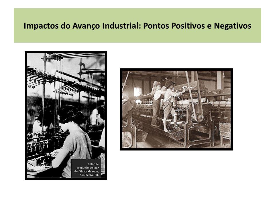 Impactos do Avanço Industrial: Pontos Positivos e Negativos