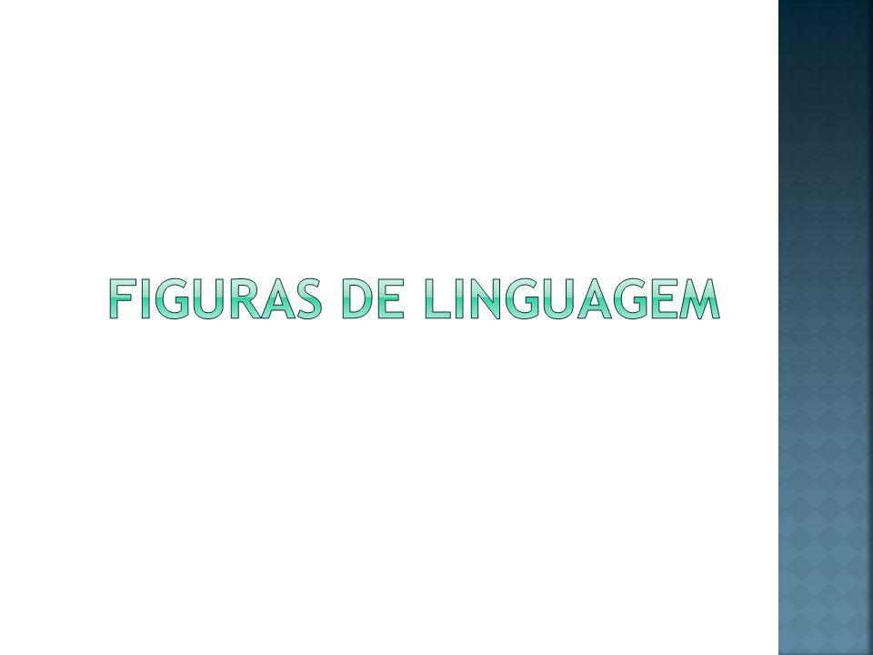 Podemos classificar as figuras de linguagem em: Figuras de palavras (ou tropos); Figuras de pensamento; Figuras de construção (ou sintaxe);