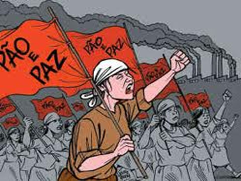 Comunismo de Guerra Retirou a Rússia da Guerra- Brest-Litovsk.