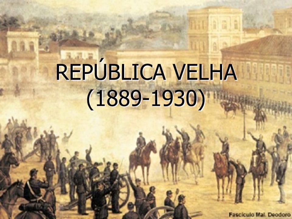 O Movimento republicano se dividia entre: Os Militares, que defendiam uma república militar, com governo forte e centralizado.