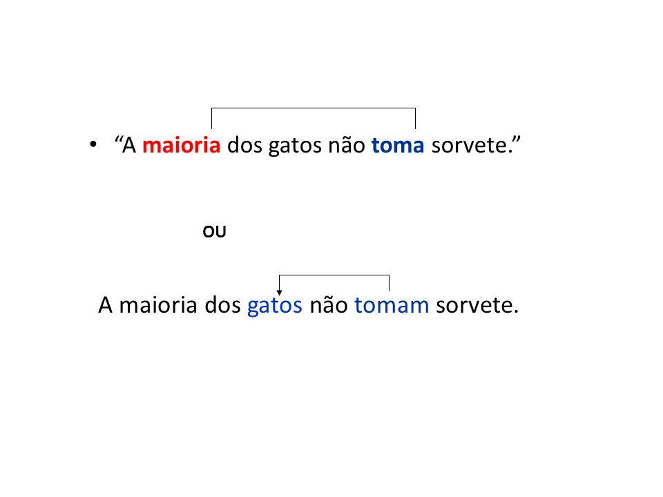 Núcleos ligados por ou / nem Ou um time do Rio ou um de São Paulo vencerá o campeonato.