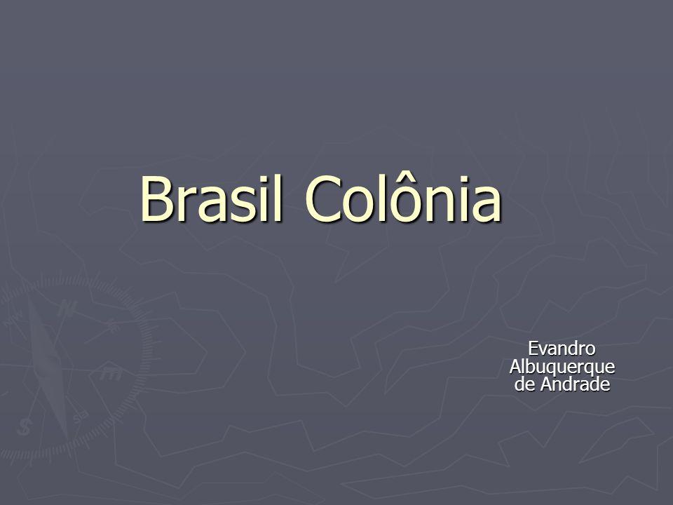 Brasil Colônia Evandro Albuquerque de Andrade