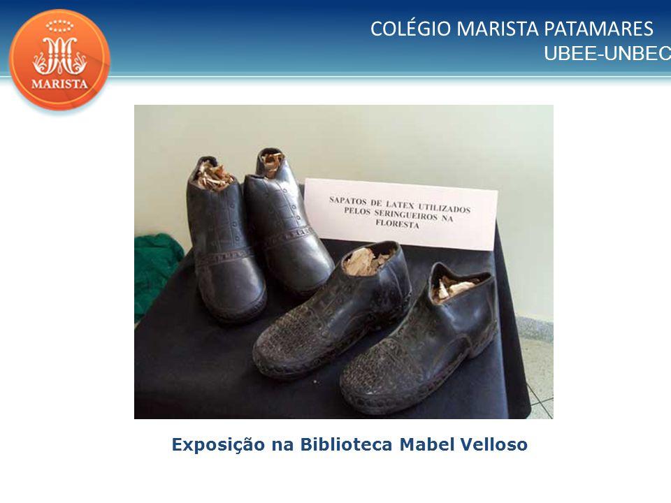 UBEE-UNBEC COLÉGIO MARISTA PATAMARES Exposição na Biblioteca Mabel Velloso