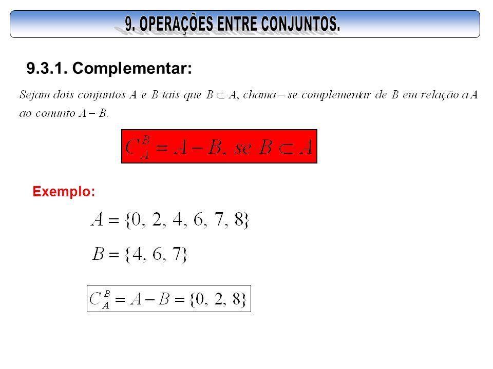 9.3.1. Complementar: Exemplo: