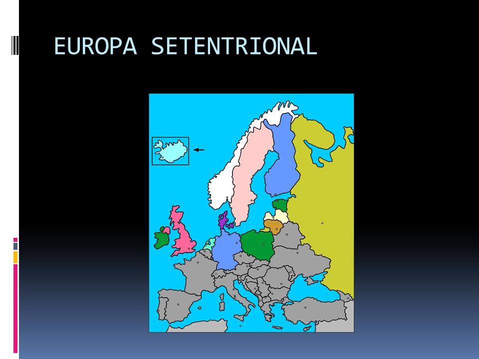 E U R O P A A localização do continente europeu é que ao norte é banhado pelo Oceano Glacial Ártico; ao sul pelos mares Mediterrâneo e Negro e ao oest