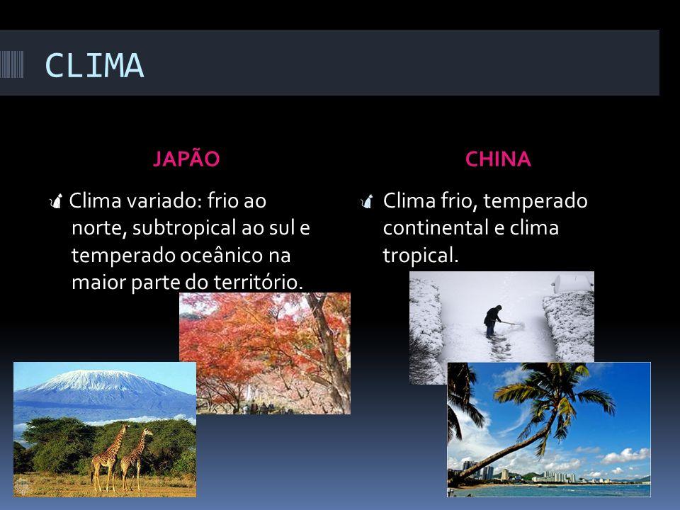 RELEVO JAPÃOCHINA Predominantemente montanhoso, de caráter vulcânico. Planícies, intensamente aproveitadas para a agricultura. Cadeias montanhosas, pl