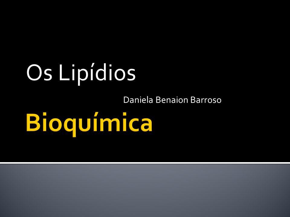 Os Lipídios Daniela Benaion Barroso