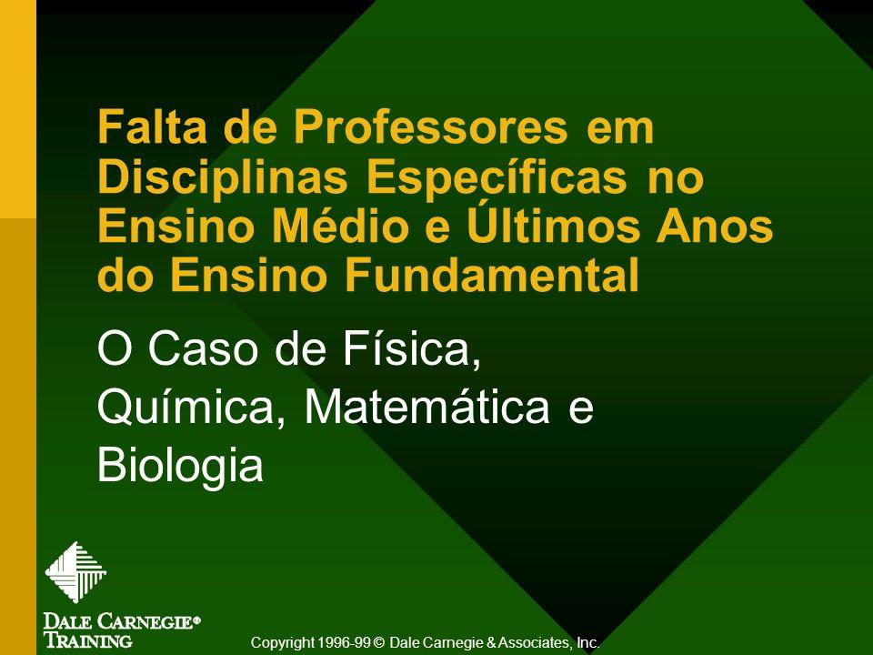 Falta de Professores em Disciplinas Específicas no Ensino Médio e Últimos Anos do Ensino Fundamental O Caso de Física, Química, Matemática e Biologia