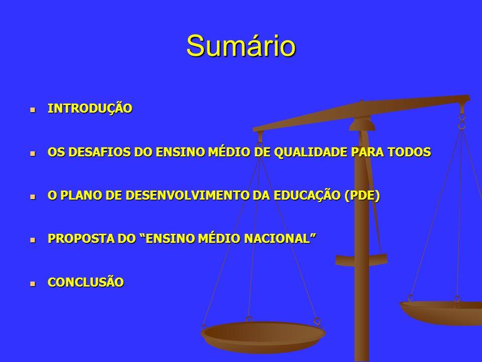Desigualdade educacional e social Taxa de transição no ensino médio, Brasil (2004) Promoção: 67,9% Repetência: 22,5% Evasão: 9,6% Promoção: 67,9% Repetência: 22,5% Evasão: 9,6% Matrículas no ensino médio regular, Brasil, em 2006 e 2007.