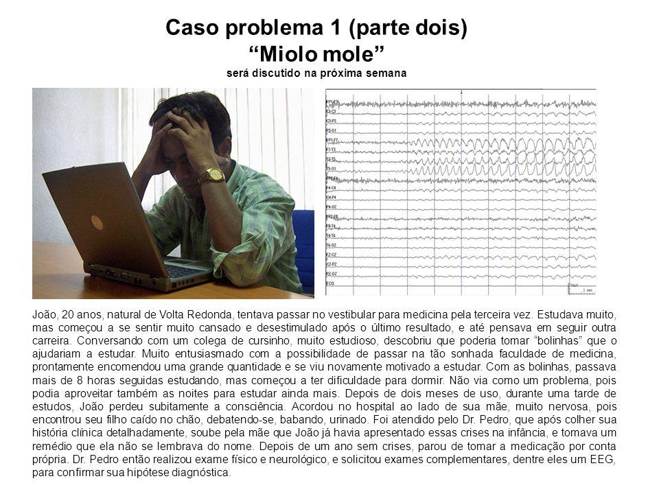 Caso problema 1(parte um) O Cabeça dura será discutido na próxima semana Flávio, 17 anos, estudante do ensino médio, estava muito preocupado com a prova do ENEM, pois queria muito ser aprovado para um faculdade pública.