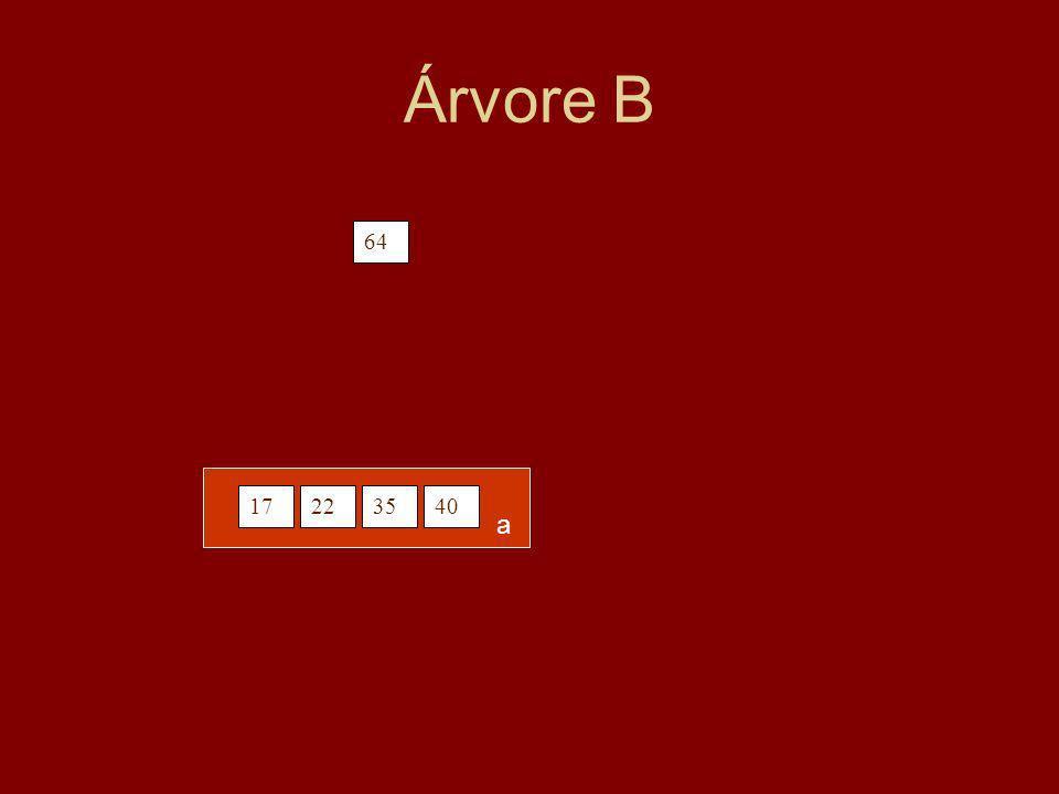 Árvore B 64 17223540 a