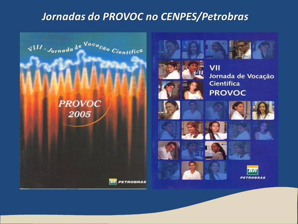 Jornadas do PROVOC no CENPES/Petrobras