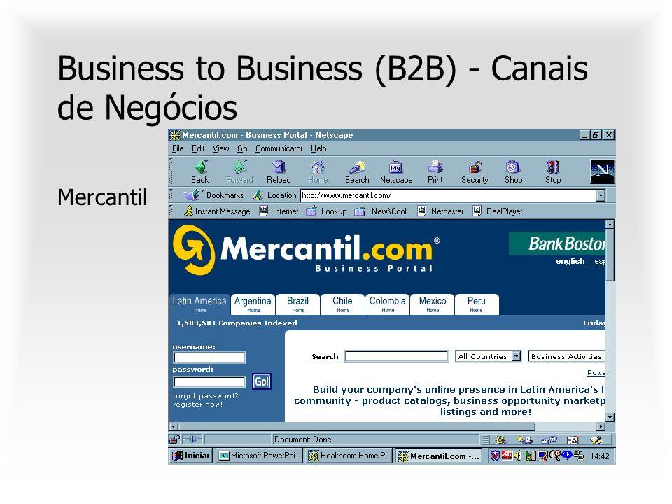 B2C - Agências virtuais de serviços Travelocity