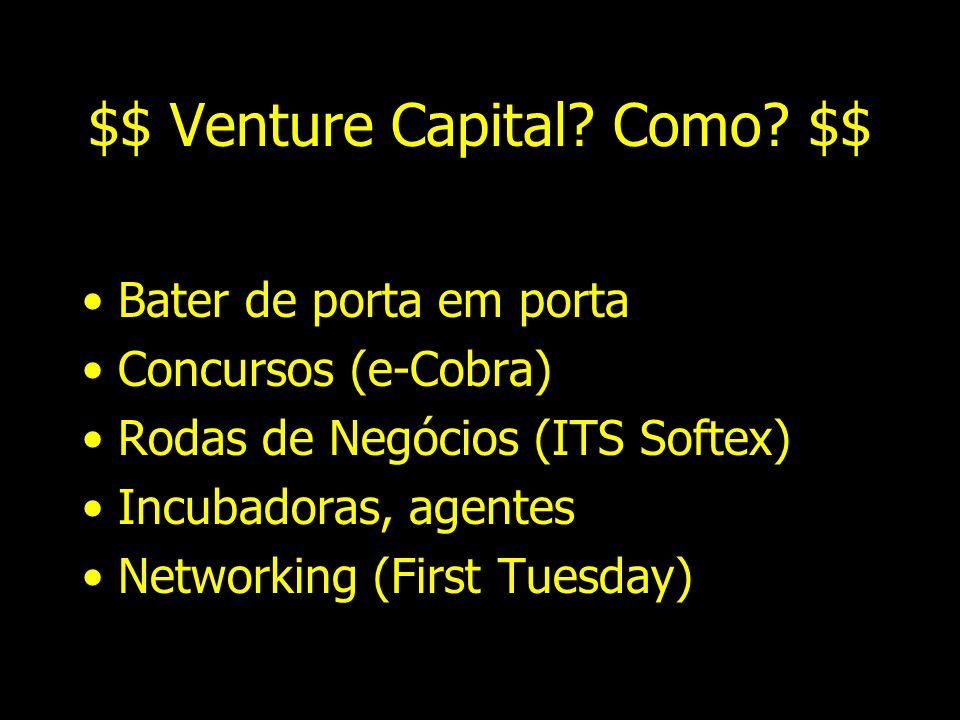 $$$ Venture Capital $$$ GP Investimentos –www. submarino.com.br, www. lokau.com.br, www. webmotors.com.br Credit Suisse/First Boston/Garantia –UOL, El