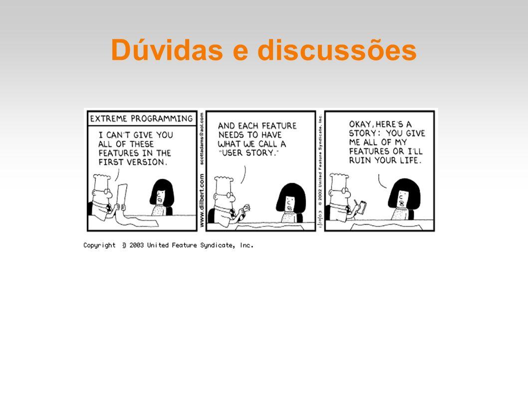 Dúvidas e discussões