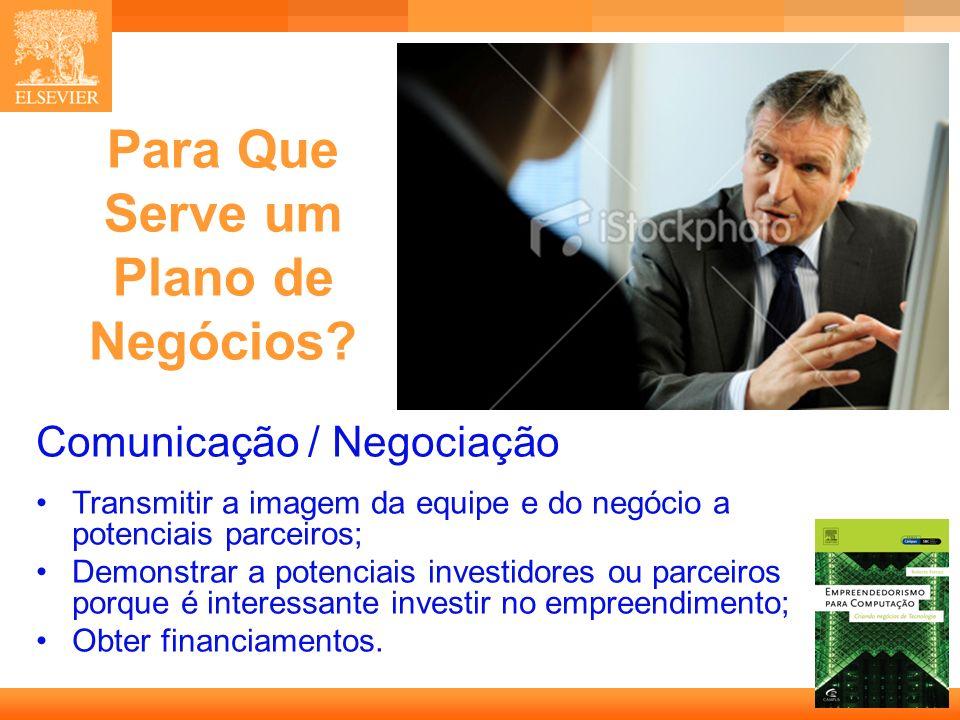 20 Capa Possível Organização Análise de Mercado Tamanho do Público Alvo; Crescimento; Concorrência; Vantagens sobre a concorrência.