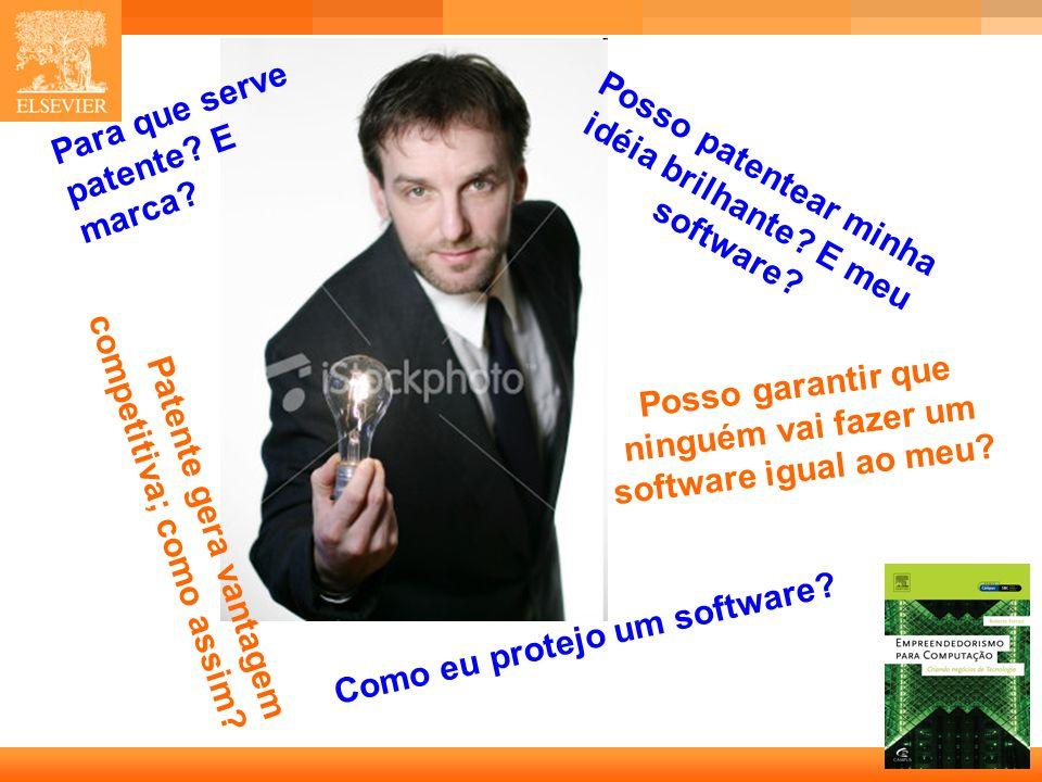 2 Capa Posso garantir que ninguém vai fazer um software igual ao meu.