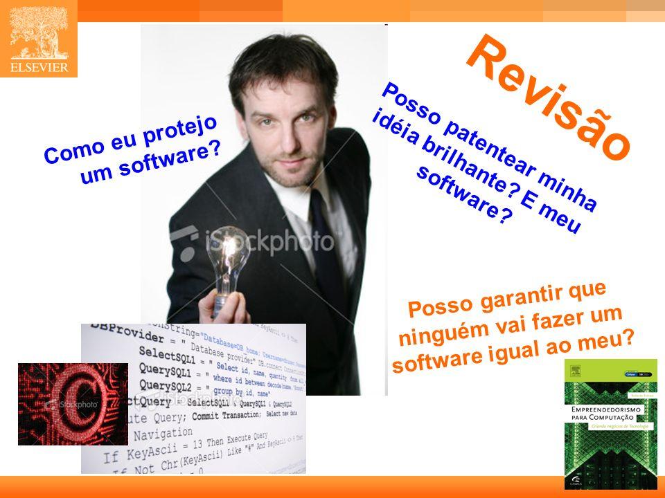 27 Capa Posso garantir que ninguém vai fazer um software igual ao meu.