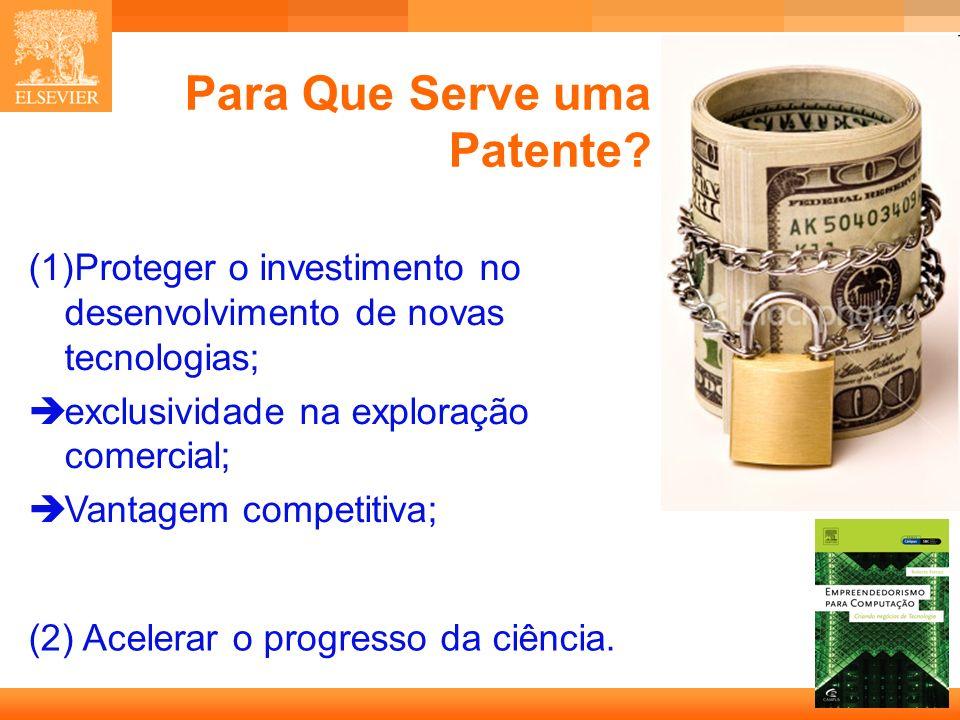 4 Capa Para Que Serve uma Patente.