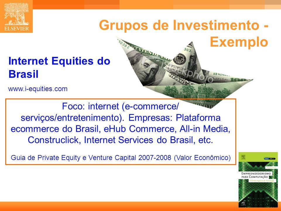 14 Capa Internet Equities do Brasil www.i-equities.com Foco: internet (e-commerce/ serviços/entretenimento). Empresas: Plataforma ecommerce do Brasil,