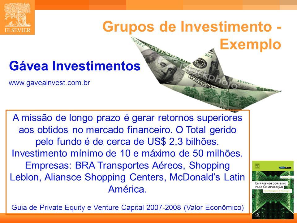17 Capa Gávea Investimentos www.gaveainvest.com.br A missão de longo prazo é gerar retornos superiores aos obtidos no mercado financeiro. O Total geri