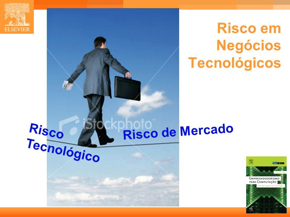 4 Capa Risco em Negócios Tecnológicos Risco Tecnológico Risco de Mercado