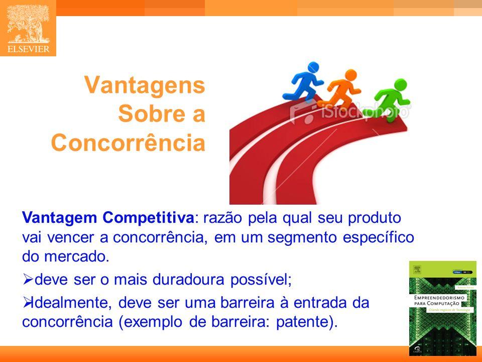 36 Capa Vantagens Sobre a Concorrência Vantagem Competitiva: razão pela qual seu produto vai vencer a concorrência, em um segmento específico do merca