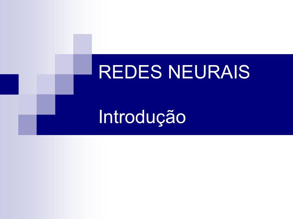 REDES NEURAIS Introdução