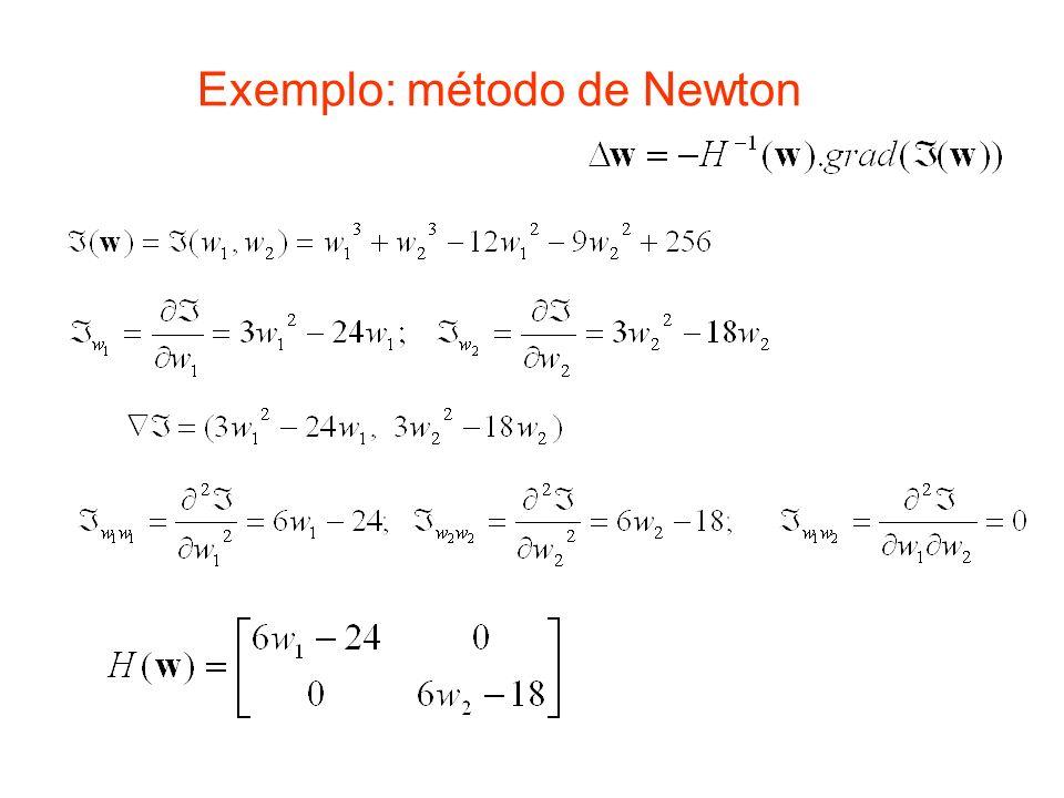 Exemplo: método de Newton
