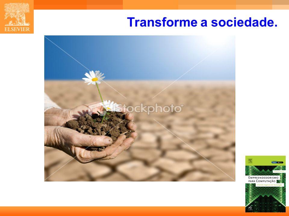 34 Capa Transforme a sociedade.
