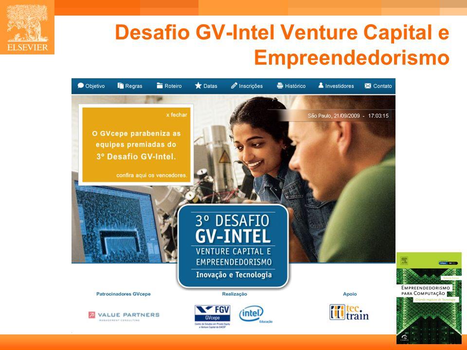 8 Capa Desafio GV-Intel Venture Capital e Empreendedorismo