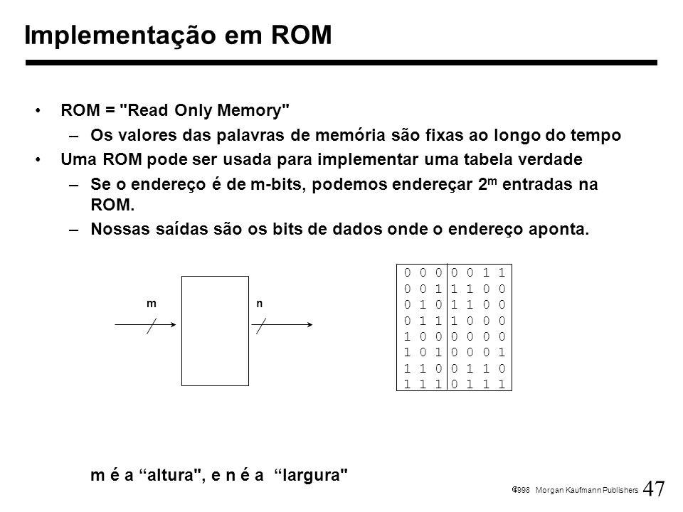 47 1998 Morgan Kaufmann Publishers ROM =
