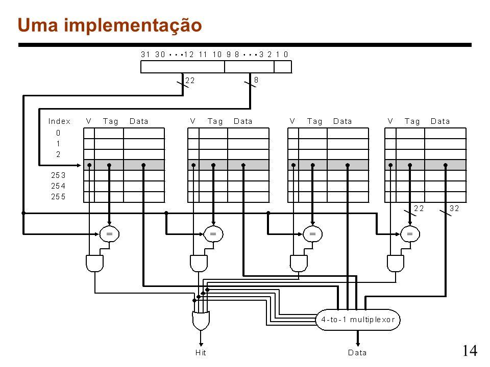 14 Uma implementação