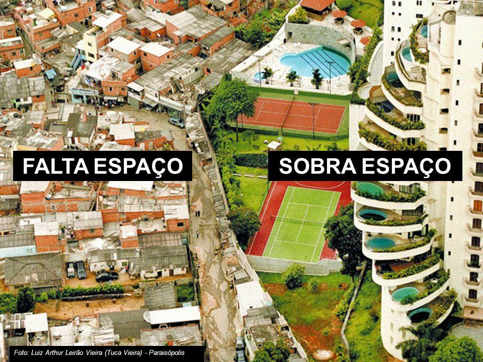 São Paulo: maior concentração de pobreza das Américas 10.886.518 milhões de habitantes Não há espaços de lazer e convivência 3,4 milhões de pessoas pobres (até ½ SM por pessoa da família)
