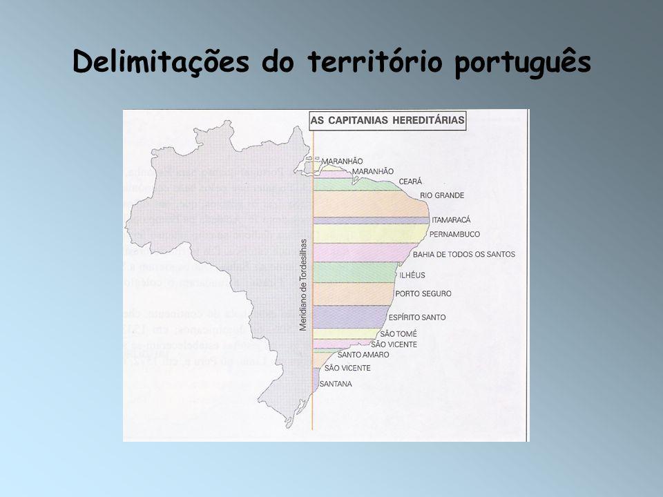 Delimitações do território português