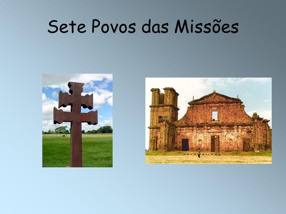 Características Cada missão foi fundada por um jesuíta, que também a dirigia.