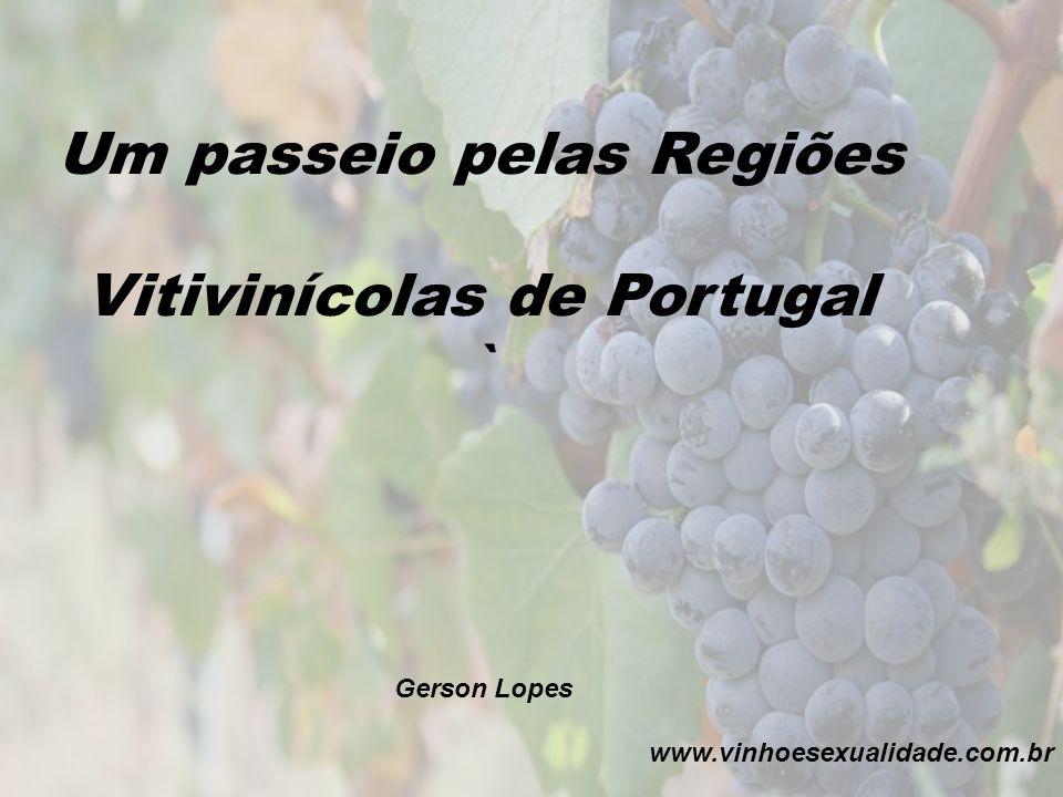 Um passeio pelas Regiões Vitivinícolas de Portugal ` Gerson Lopes www.vinhoesexualidade.com.br