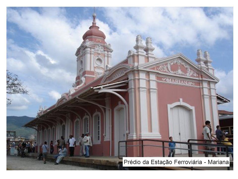 Prédio da Estação Ferroviária - Mariana