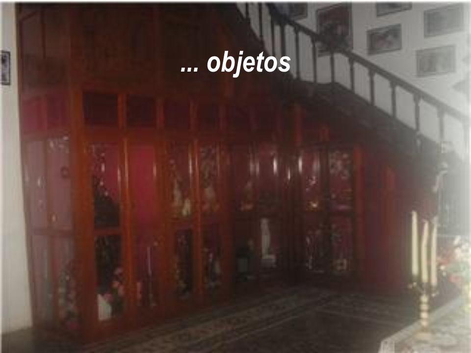 No seu interior realiza-se retiros espirituais e seminários com exposição de móveis...